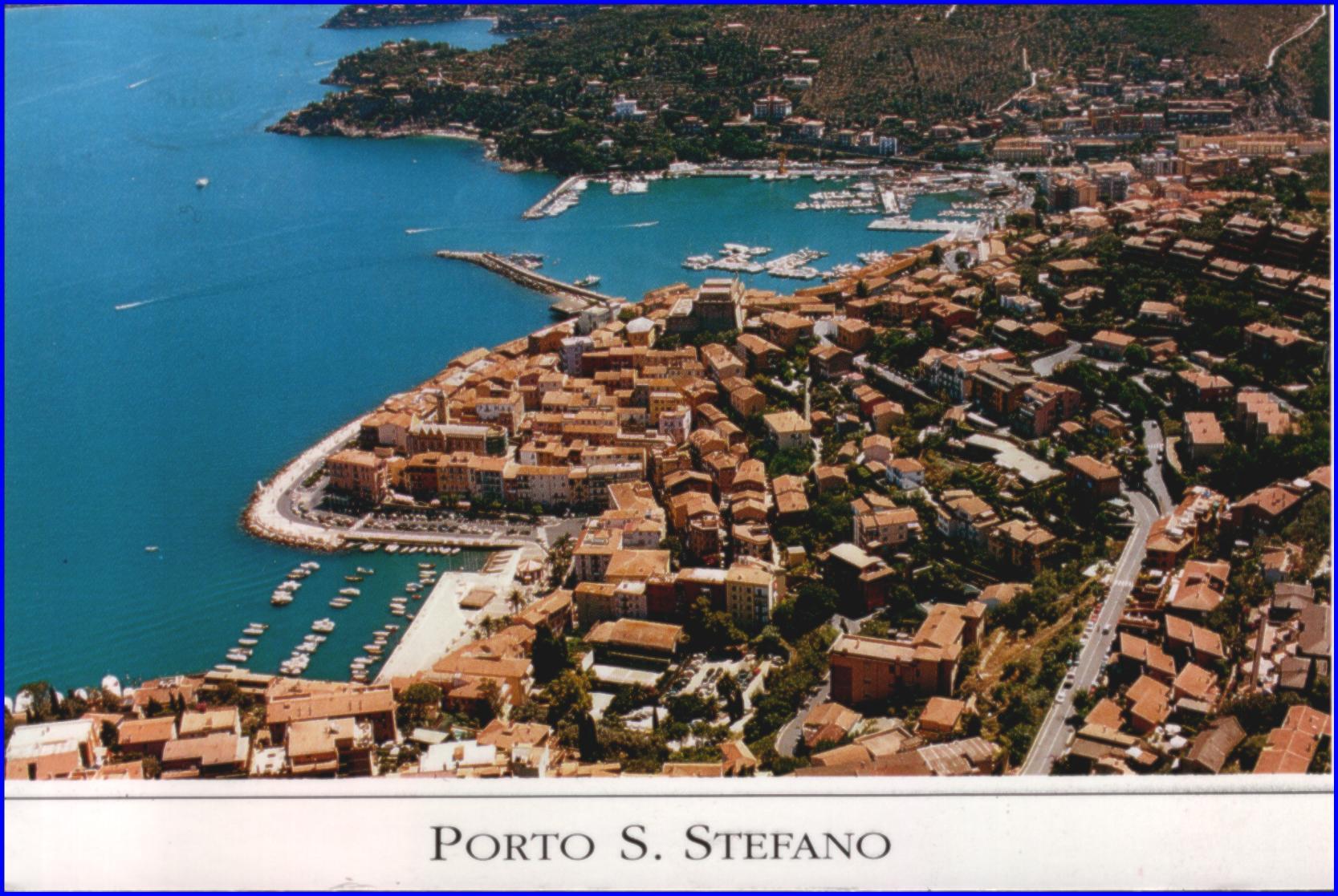 View of Porto Santa Stefano.